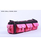 DollZone: 1/3 Carrier bag (black and pink)