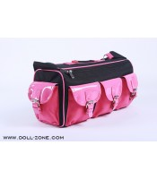 DollZone: 1/4 Carrier bag (black and pink)